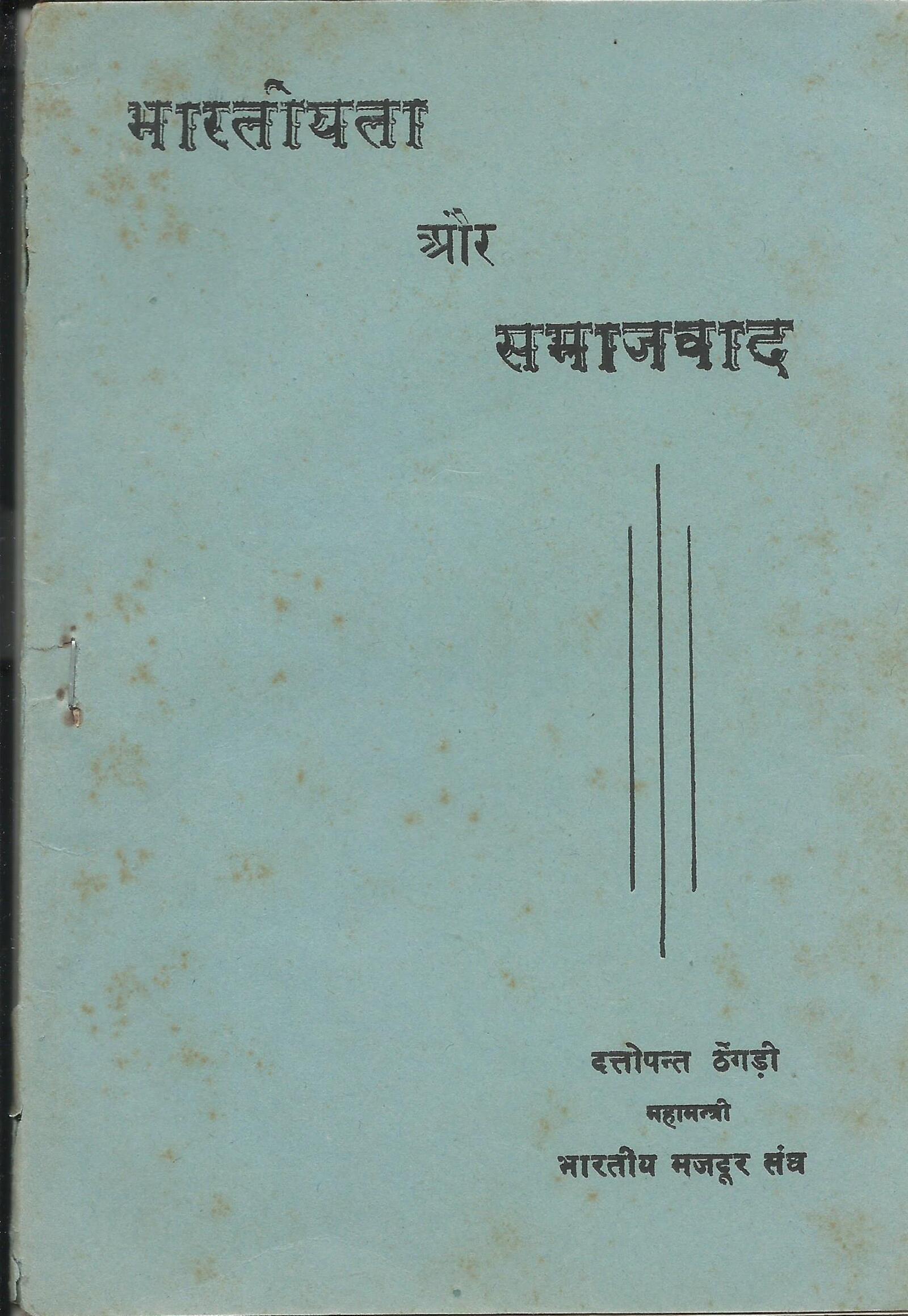 भारतीयता और समाजवाद