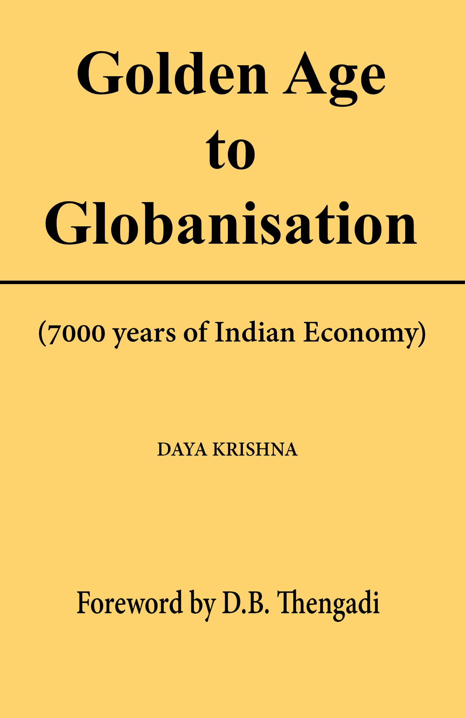 Golden Age to Globalisation